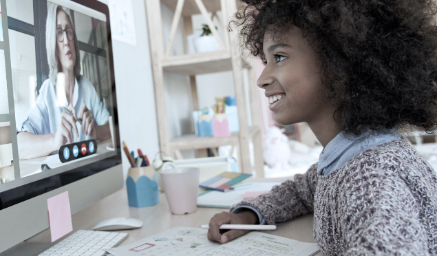 How to create a productive remote learning space for kids